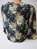 Красивые женские кофты с цветами., фото 5