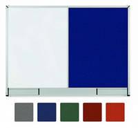 Доска комбинированная маркер/текстиль StarBoard, 90x60, TCSST96.