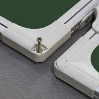 Доска для мела в алюминиевой рамке, 5 рабочих поверхностей, 90х120/240, TRK129/UA
