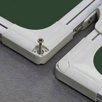 Доска для мела в алюминиевой рамке, 5 рабочих поверхностей, 100x200/400, TRK1020/UA