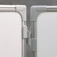 Доска для маркера керамическая в алюминиевой рамке, 5 рабочих поверхностей, 90x120/240, TRS129P3