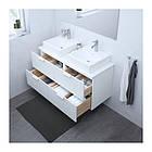 Шкаф с раковиной IKEA GODMORGON / TOLKEN / TÖRNVIKEN 122x49x72 см с 4 ящиками глянец белый 491.851.63, фото 2