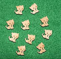 Пуговица Котёнок 617 поштучно, фото 1