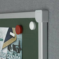 Доска для мела в алюм. рамке C-line, 100x240, TKC1024/UA.