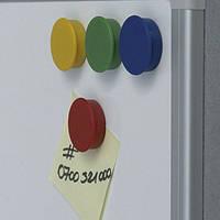 Набор БОЛЬШИХ магнитов 40 мм x 10 шт. цвета ассорти