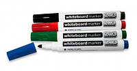 Набор маркеров для досок 4 цвета (синий, зеленый, красный, черный)
