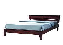 """Кровать """"Шарлотта"""" каштан 160х200"""