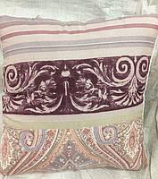 Подушка детская холлофайбер в ассортименте 45х45 с кантом