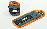 Утяжелители-манжеты для рук и ног Zelart (2шт x 1кг)