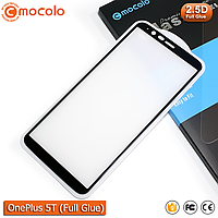 Захисне скло Mocolo OnePlus 5T Full Glue (Black), фото 1