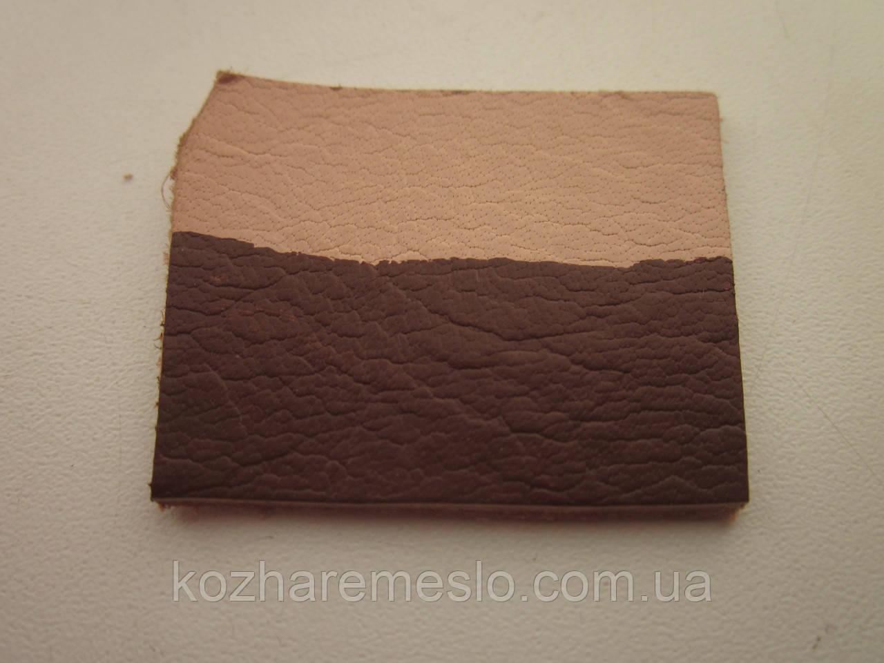 Краска для кожи HP COLOURS Fenice на водной основе пигментная 50 мл коричневая - каштан (Италия)