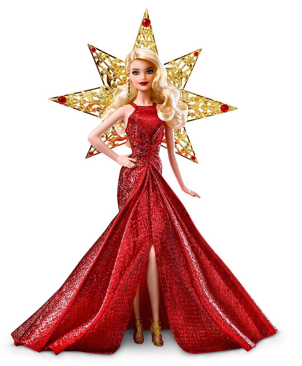 Коллекционная кукла Барби праздничная 2017 Блондинка Barbie Holiday Blonde Hair