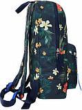 Молодежный сине-бордовый рюкзак Bagland mini 8л размером 32*23*10 см, фото 2