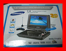 "3D DVD ПЛЕЄР 7,6"" Samsung LED"