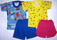 09.08 Комплект футболка+шорты р.24-34