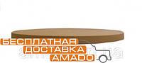 Столешница GSDM, цвет коричневый, диаметр 70 см