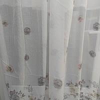 Тюль занавески портьеры шторы ширина 290 см сублимация 1307