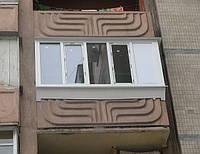 Балкон Rehau Euro 70 в Киеве купить. Лоджия Rehau Euro 70 Киев