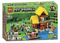 КонструкторMinecraft Bela 10813 Фермерский домик, 560 дет., фото 1