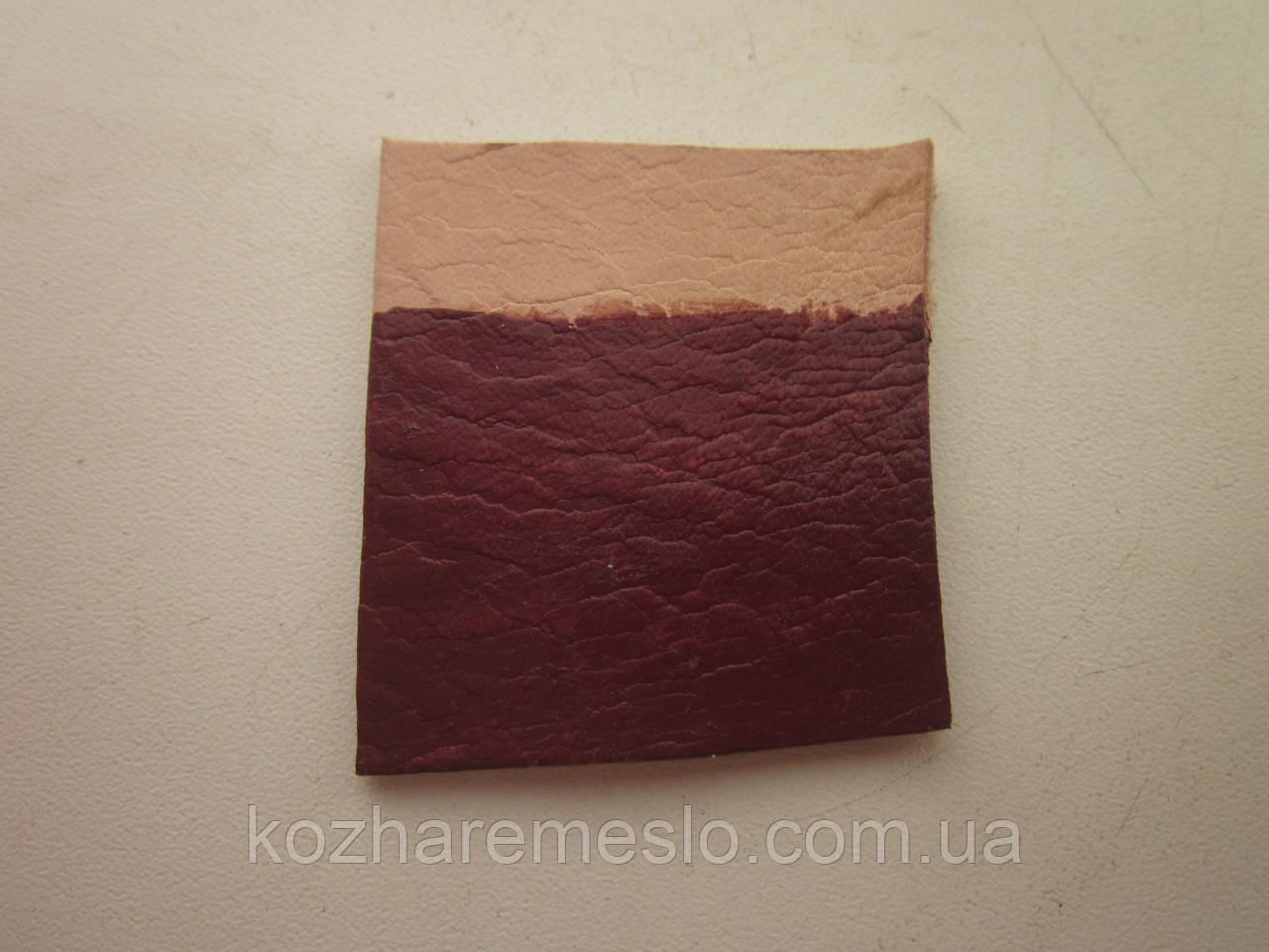Краска для кожи HP COLOURS Fenice на водной основе пигментная 50 мл коричневая (Италия)