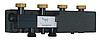 Разделитель (гидрострелка) Womix C70 4F DN 25 4-х контурный с теплоизоляцией