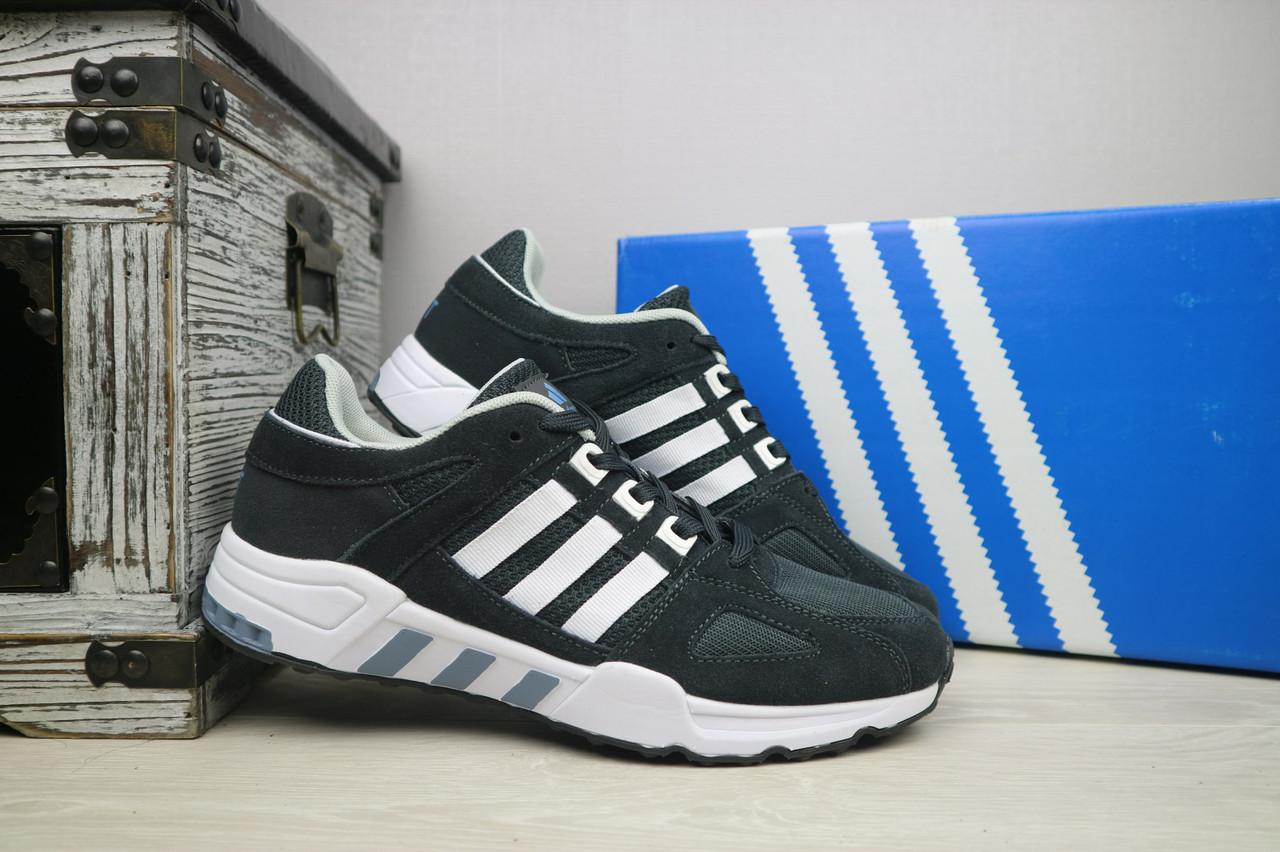Кроссовки мужские Adidas Equipment,летние, осенние, молодежные (серые), ТОП-реплика