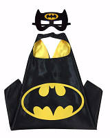 Детский плащ с маской Бетмен (костюм Batman), фото 1