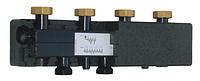 Роздільник (гидрострелка) Womix C70 5F DN 25 5-х контурний з теплоізоляцією