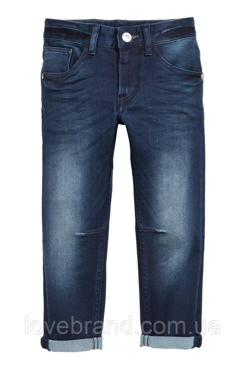 Джинсы  для мальчика H&M 3-4 г./104 см синие