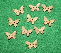 Ґудзик Метелик -2 622 поштучно, фото 1