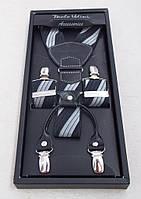 Мужские подтяжки Paolo Udini подарочные, фото 1