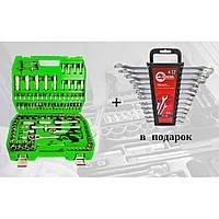 Набор инструментов 108 ед. ET-6108SP + набор ключей 12 ед. HT-1203
