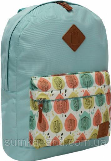 Молодежный рюкзак унисекс Bagland W/R 17 л (тиффани 86) размер 38*29*15 см