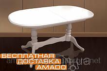 Стіл обідній Даніель світлий 148(+40)x88x78,5