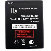 Аккумулятор на Fly BL4027 (Fly iQ4410 Quad Phoenix), 1800 mAh Оригинал
