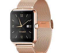 UWatch Умные часы Smart Z50 Gold, фото 1