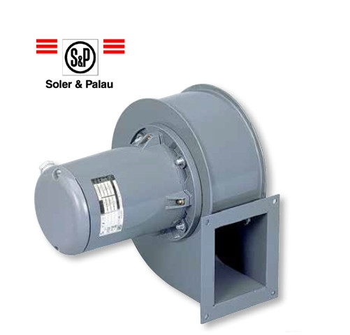 Серия 1 - Трехфазные центробежные вентиляторы Soler&Palau CMТ без опорной рамы
