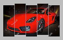 Модульная картина Porsche