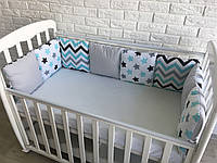 Защита в детскую кроватку для новорожденных «Мечта»