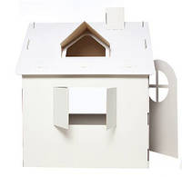 Картонный домик-раскраска для игр и рисования, фото 1