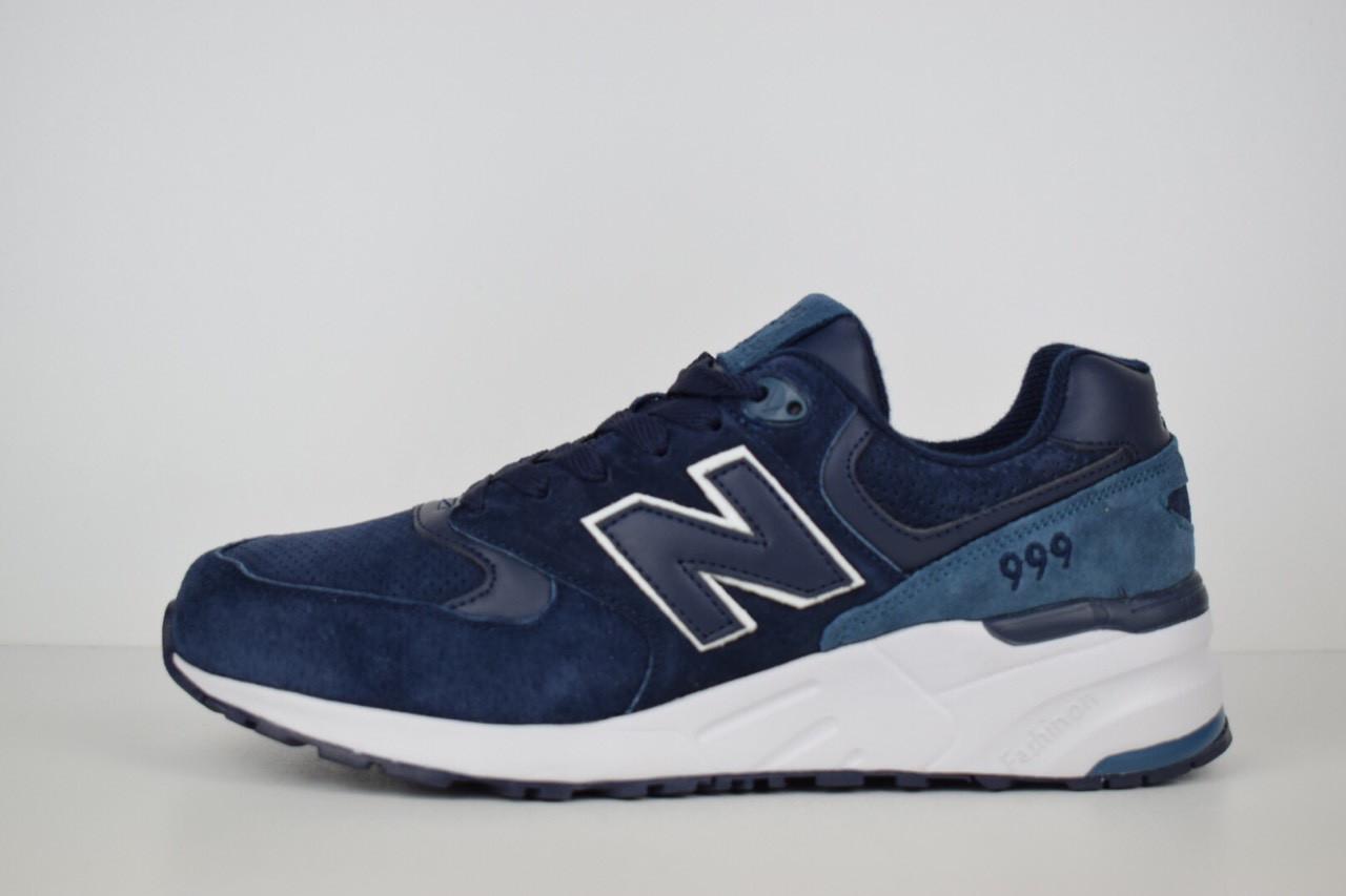 Мужские кроссовки New Balance 999 темно-синие b042435905950