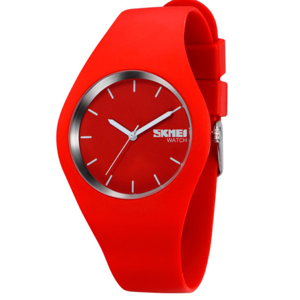 Skmei Женские часы Skmei Rubber Red 9068R