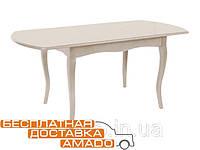 Стол Джессика 1300(+400)*800*770 (айвори) Domini