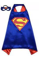 Детский плащ с маской Супермен ( костюм Superman)