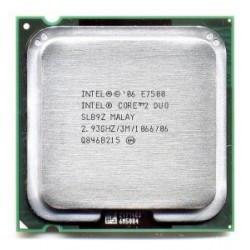 Процессор(775) Core 2 Duo E7500 3 МБ кэш-памяти, тактовая частота 2,93 ГГц, частота системной шины 1066 МГц