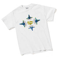 Оригинальная футболка Blue Angels Formation Break T-shirt 110010010414 (White)