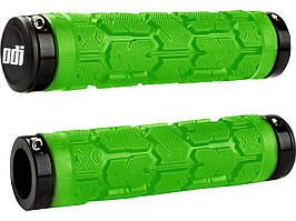 Грипсы ODI Rogue MTB, зеленые