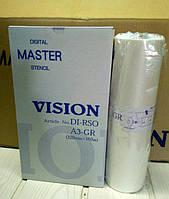 МАСТЕР-ПЛЕНКА VISION ДЛЯ RISO A4 RC/ RA (227MM X 100M)