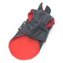 Попона для собак Флис черная, фото 3