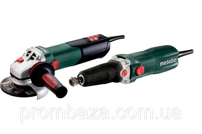 Набор Metabo WEA 15-125 Quick + GE 710 Plu